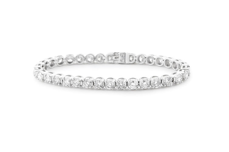 14K 5ct Diamond Tennis Bracelet