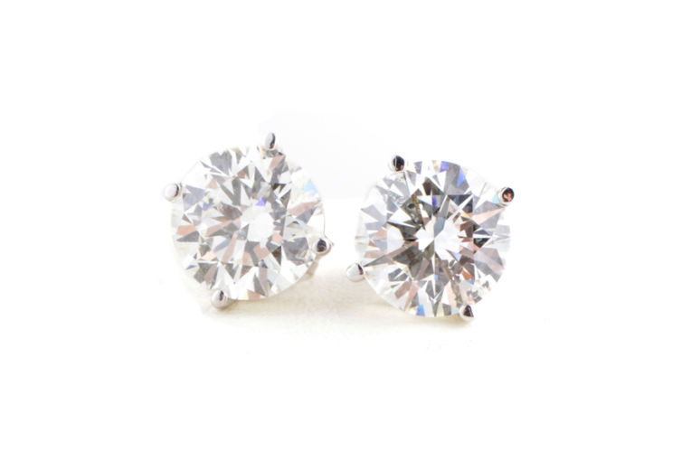 14K 1.00ct Diamond Stud Earrings